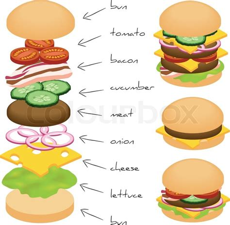 green home plans free hamburger stock vector colourbox