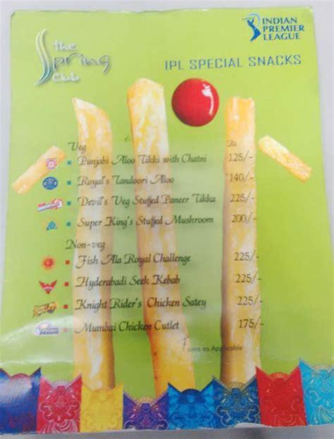 Kolkata Restaurants Celebrate Ipl With Cricketlovers