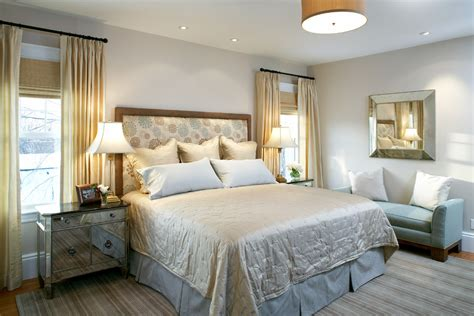 Bedroom Decorating Ideas Next by Baroque Blackout Drapes In Bedroom Transitional With Grey
