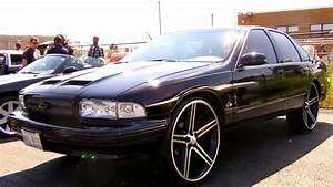 """Chevy Impala SS on 24"""" Irocs - YouTube"""
