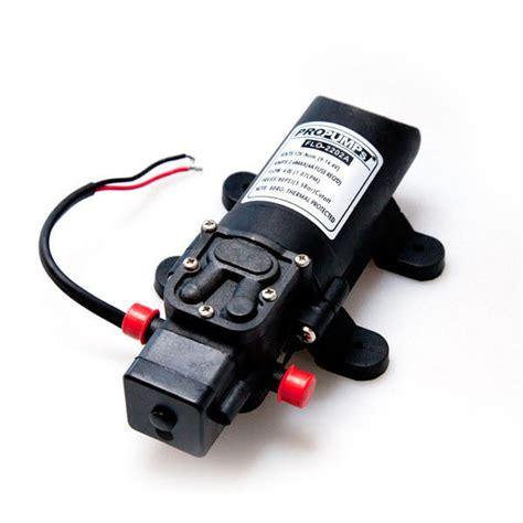 dc diaphragm water rv pump lmin psi propump propump