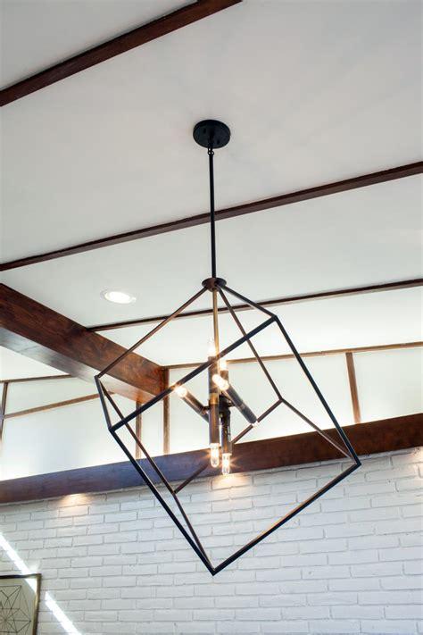 modern lighting fixtures a fixer take on midcentury modern hgtv s fixer
