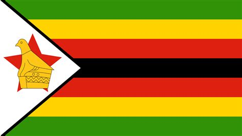 zimbabwe flag wallpaper high definition high quality