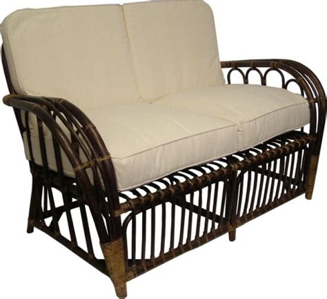 New Settee by New Two Seater Settee The Golden Rattan