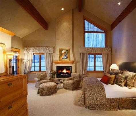 elegant  inspiring master bedroom fireplace ideas