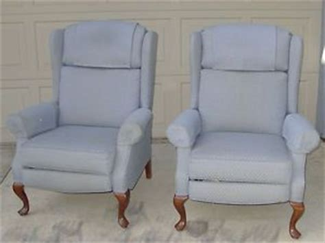 slipcovers for wingback recliner on popscreen