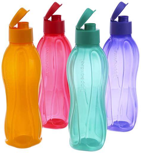 tupperware aqua safe 750 ml flip top water bottle 25 oz original brand new ebay