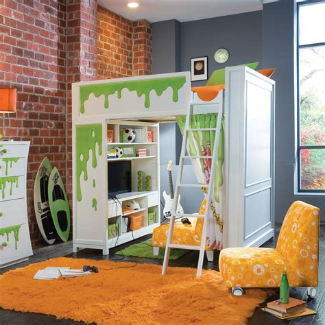 10 Awesome Bunk Beds by Awesome Bunk Beds For With Scary Green Blood Monsters