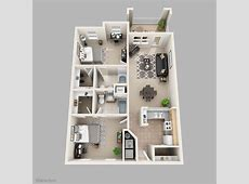 Two Bedroom Apartment Floor Plans Aesthetic Pictures