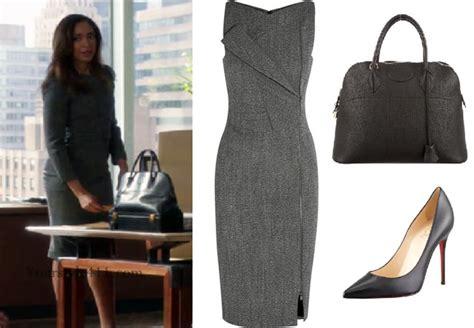 suits season  episode  jessica pearsons grey dress