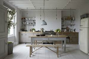 Küche Retro Stil : esstisch im vintage stil richtiger eyecatcher ~ Watch28wear.com Haus und Dekorationen