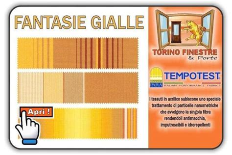 Tende Da Sole Tempotest Catalogo Catalogo Tessuti Tempotest In Acrilico Tende Da Sole Torino