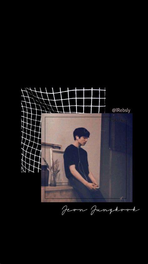 jungkook black aesthetic wallpapers