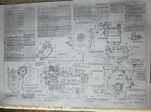 Details About Harley Davidson 45 Flathead Transmission Blueprint Plans Hd Poster Print Parts