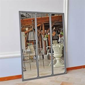 Maison Du Monde Miroir Industriel : miroir industriel chehoma ~ Teatrodelosmanantiales.com Idées de Décoration