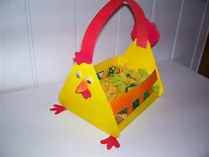 Poule Pour Paques : panier poule en r ponse sandra et lillou paques ~ Zukunftsfamilie.com Idées de Décoration
