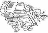Oven Dutch Clipart Cliparts Library Coloring Line Clip sketch template