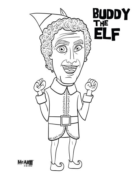 Best Elf Coloring Pages Ideas And Images On Bing Find What You