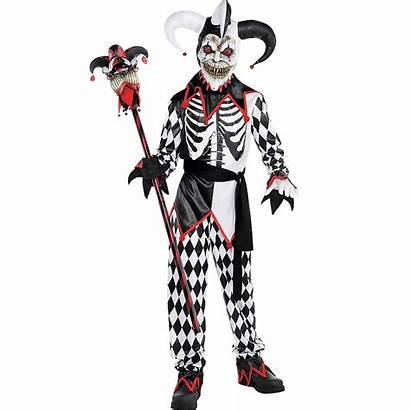 Jester Costume Sinister Boys Halloween Boy Costumes