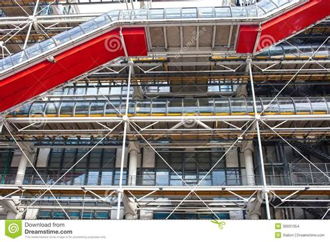 centre pompidou museum of modern pompidou centre in stock images image 36931354