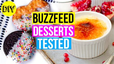2 pi鐵es cuisine buzzfeed desserts tested diy 39 s day treats 2016
