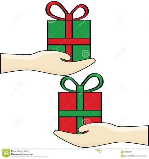 gift exchange stock images image