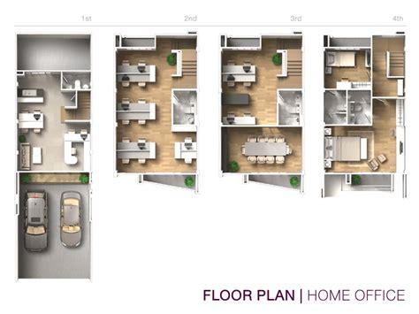 home office floor plans housetype of 4 floors commercial building b avenue