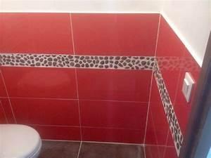 carrelage rouge cuisine carrelage rouge ancien dedans With cuisine mur rouge meuble blanc 13 entreprise pehlivan pose de carrelage sol et mur 224