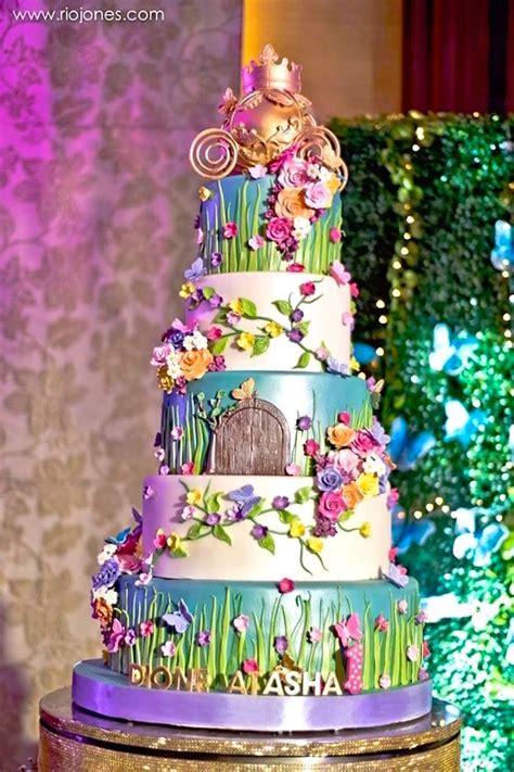 Garden Decoration For Cake by Kara S Ideas Enchanted Garden Princess Birthday