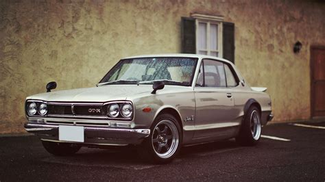 vintage nissan skyline cars classic hakosuka nissan skyline 2000 gt r rims tuned