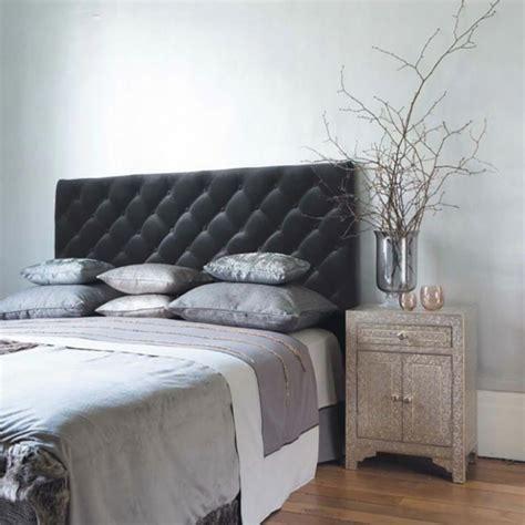 chambre grise murs et ameublement chambre tout en gris tendance