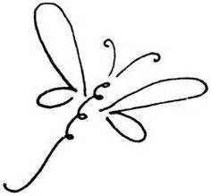basic outlines of dragonflies outline dragonfly clipart best