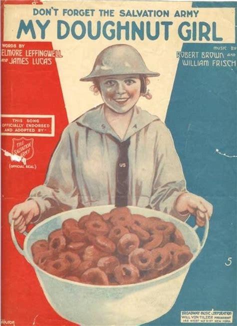 holey holiday  history  national doughnut day