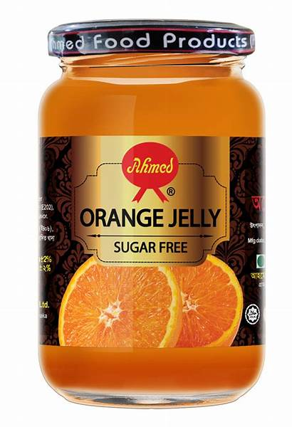 Orange Jelly Diabetic Sugar Ahmed Apple Guava