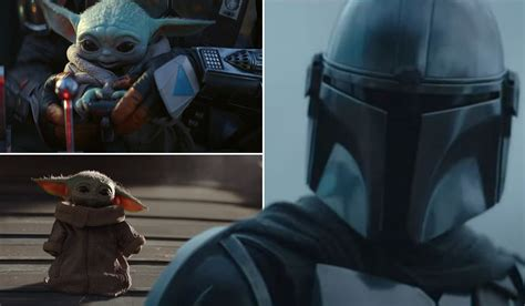 Baby Yoda Returns As The Mandalorian Drops Trailer For ...