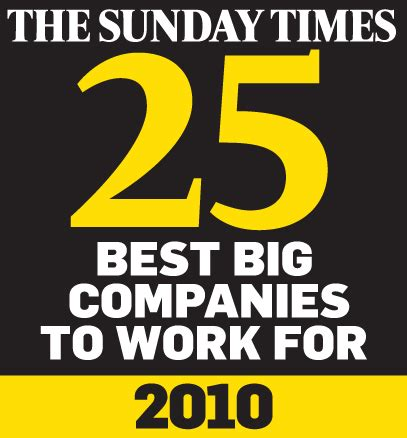 26774 big companies with work from home work from home the 044505 sunday times best big companies to work for 2010