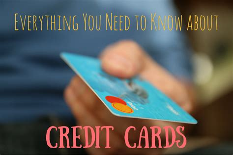 Everything You Need To Know About Using Credit Cards
