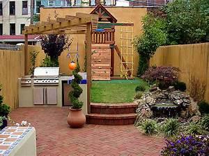 Small, Backyard, Remodel, Design, Design, Bookmark, 6494
