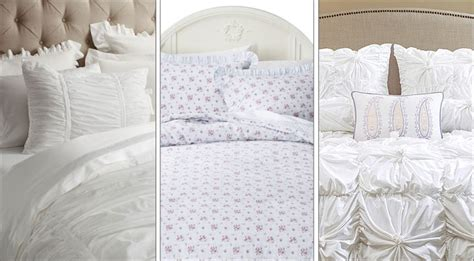 shabby chic bedding on sale january 2015 white sales at macy s pottery barn more