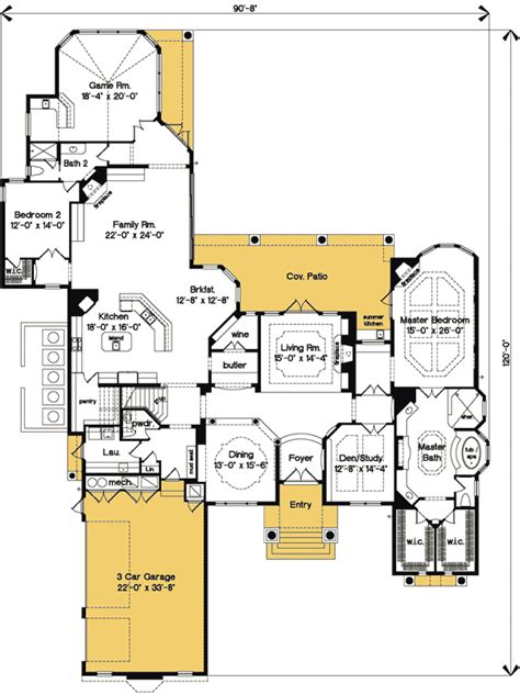 floor master bedroom house plans plan 83379cl luxurious master bedroom suite awesome