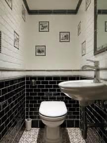 houzz bathroom tile ideas photos et idées déco de wc et toilettes avec un carrelage