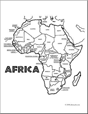 africa coloring pages coloring page of map of africa coloring pages africa