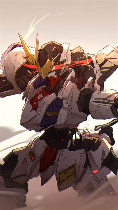 Gundam Blooded Orphans Iron Mobile Suit Anime