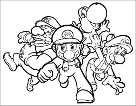 Super Mario Bros 2 Coloring Pages - Eskayalitim
