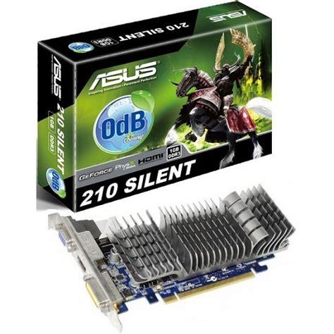 vga card nvidia komputer jual asus nvidia geforce gt 210 en210 silent di 1gd3 v2