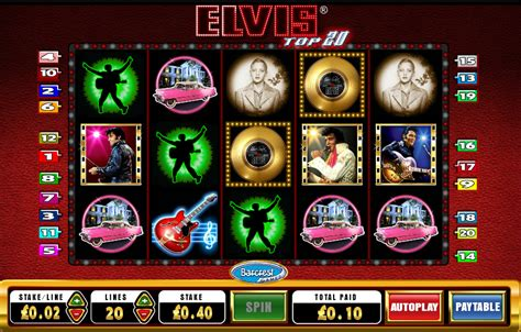 Elvis Top 20 Slots Review  Online Slots Guru