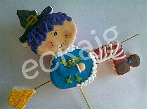 cake pops en navidad hazlos f 225 cil figuras de bombon bruja en escoba