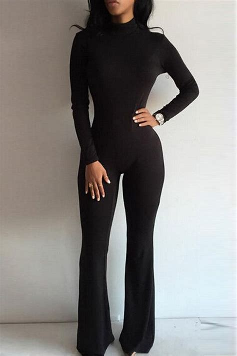 all black jumpsuit best 25 bodycon jumpsuit ideas on bodycon