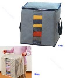 folding bamboo charcoal clothes sweater blanket closet
