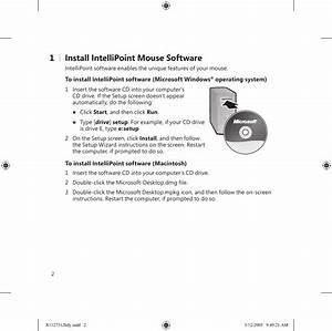 Microsoft 1058 Microsoft Wireless Laser Mouse 5000 User